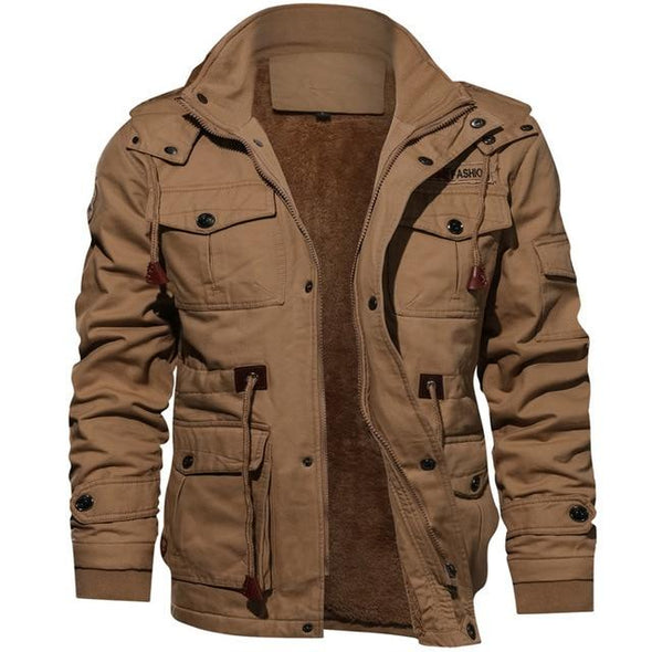Jacket Men Thick Warm Military Bomber Tactical Jackets