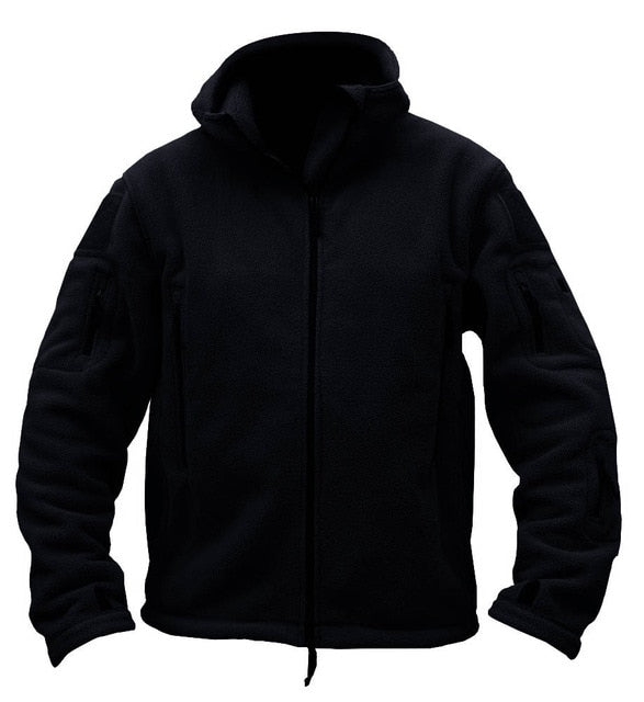 Winter Thermal Hooded Jacket Coat Mens