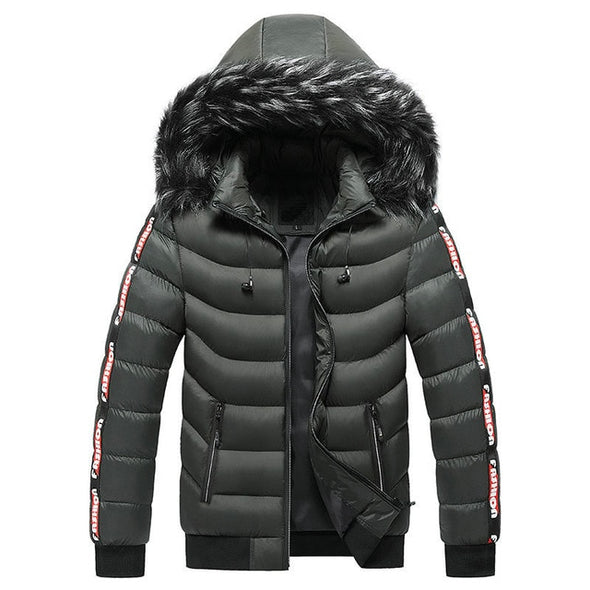 Men Winter Jackets Casual Warm Thick Waterproof Jacket
