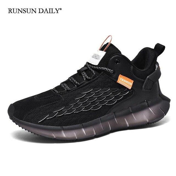 Men's Sneakers Fashion Lace Up Running Shoes