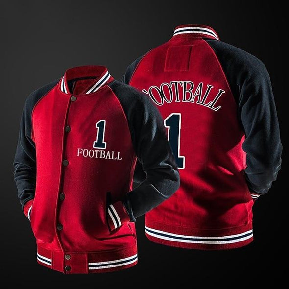 Baseball Uniform Men Hip Hop Baseball Uniform Jacket
