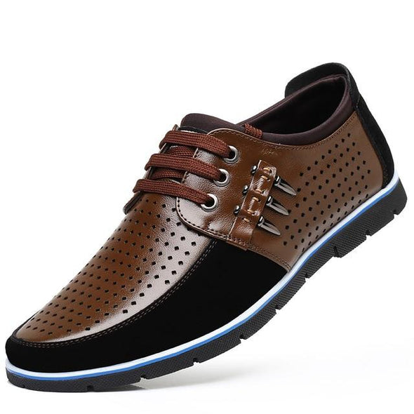 Breathable  Casual Genuine Leather Shoes