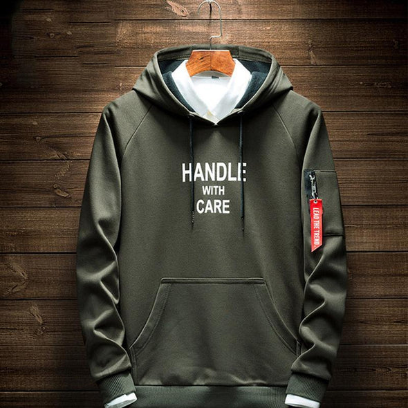 New Fashion Men's Casual Hoodie