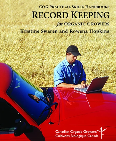 COG-Record Keeping for Organic Growers Handbook