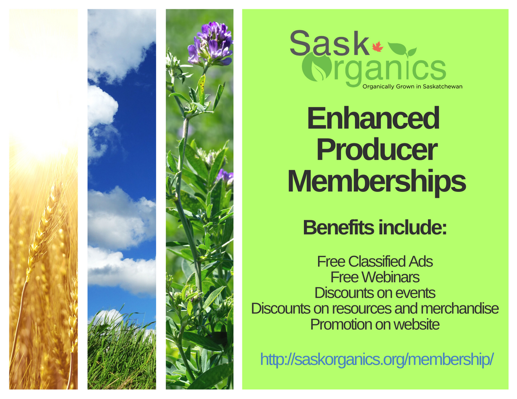 Enhanced Membership-Premium Organic Producer