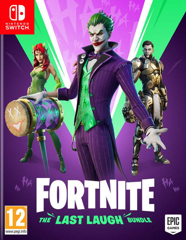 Fortnite Letzter Lacher Paket (NINTENDO SWITCH) (DLC) ESHOP KEY
