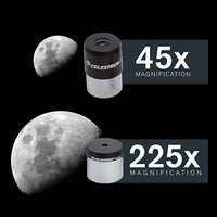 High power Celestron PowerSeeker80EQ Refraction astronomical German Equatorial perfect beginners telescope Compact and Portable