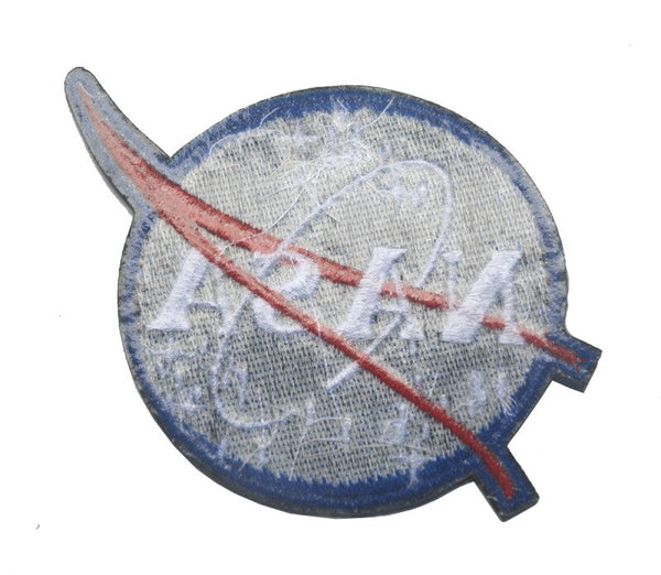 American Space Agency NASA Shoulder Emblem Embroidered Velcro Tactical Morale Patch Badge Currently