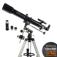 Celestron - PowerSeeker 70EQ Telescope - Manual German Equatorial astronomical Telescope for Beginners - Compact and Portable