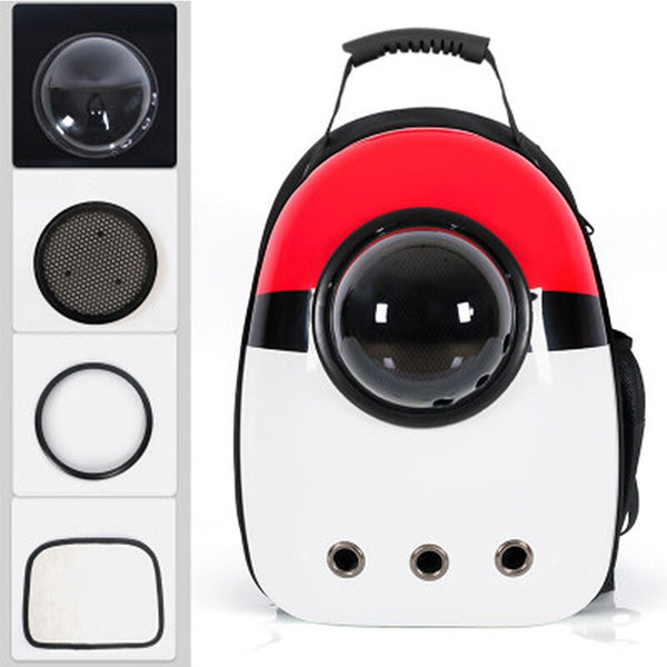 Space Capsule Cat Backpack Pet Dog Cat backpack Travel cat carrier Double Shoulder Bag for Bag Small Pet Handbag Cat carrying