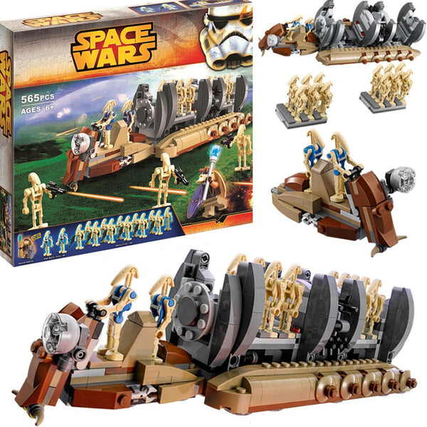 NEW Building Blocks 10374 Star Space Wars Figures Droid Troop Carrier Compatible lepining 75086 DIY Toy Toys Gifts