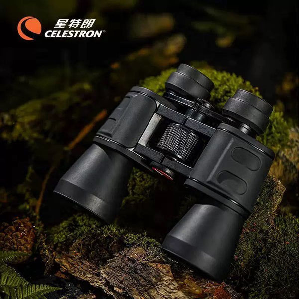 2021 New Celestron UpClose 10X50 HD Binoculars BAK4 Optical Military Telescope For Hunting Bird watching sporting events