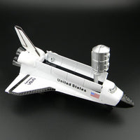 Exploration Alloy Space Shuttle Model Spacecraft Spaceship Astrovehicle Shuttle Aerospaceplane Space Ship Model Ornament crafts