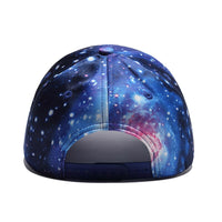 2019Summer 3D Printing Baseball Cap Hip Hop Street Style Cap Hat Rapper Outer Space Galaxy Caps Street Dancer Dance Caps Hat Men