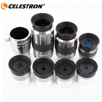Celestron omni 4mm 6mm 9mm 12mm 15mm 32mm 40mm and 2x eyepiece and Barlow Lens Fully Multi-Coated Metal Astronomy Telescope
