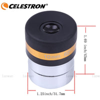 "Celestron Aspheric Eyepiece Telescope HD Wide Angle 62 Degree Lens 4/10/23mm Fully Coated for 1.25"" Astronomy Telescope 31.7mm"