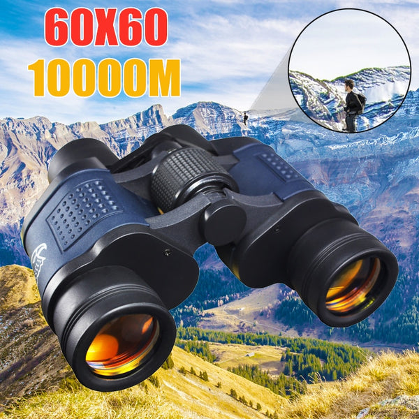 High Clarity Telescope 60X60 Binoculars Hd 10000M High Power For Outdoor Hunting Optical Lll Night Vision binocular Fixed Zoom