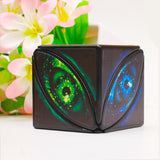 Stress Relief Cube Magic Cube Magic Eye Portable Decompresses Relax Toys for Children Adults