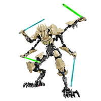 Hot Decool height 32cm 9016 186 pcs Star General Sabre Laser Building Block Compatible 75112 Brique Jouet Wars