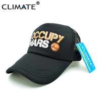CLIMATE OCCUPY MARS Trucker Caps Expanse Rocket Mars Men Cap Men Hat Outer Space Musk Summer Baseball Hip Hop Caps Hat Men