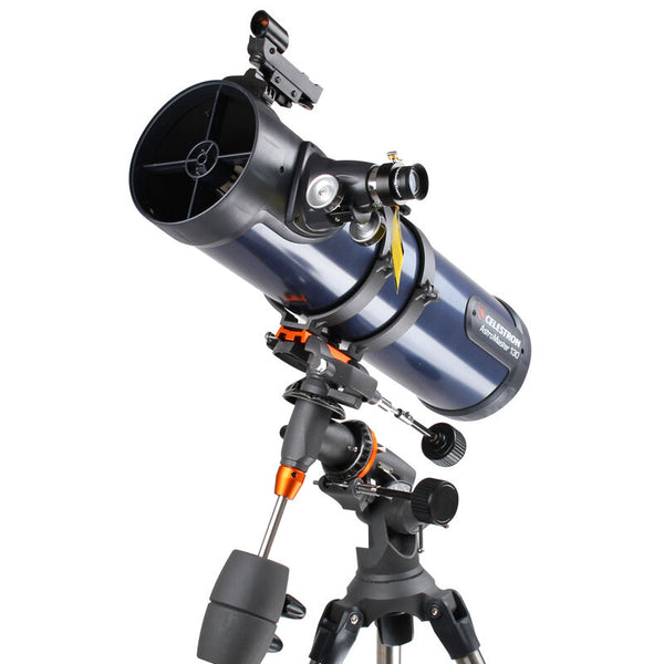 CELESTRON AstroMaster 130EQ Newtonian Reflector Telescope Red Dot Finderscope Spotting Scopes CG-3 Equatorial Tripod