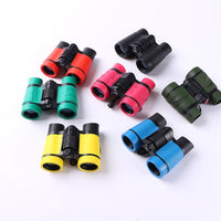 Folding Outdoor Mini Binoculars Telescope 11.2*4*9cm 4*30 Scope Camouflage Toy Kids Boy Portable Children Gift Hunting Sports