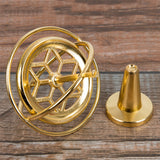 Classic Metal Gyroscope Gyro Pressure Relieve Speed Balance Educational Toy New
