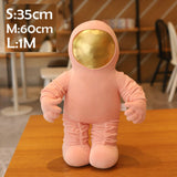 Space Astronaut Stuffed Doll Toy Plush Space Rocket Unique Space Ship Toy Stuffed Throw Pillow For BoY Birthdat Gift