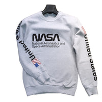 Nasa Crew Neckline Fit Cut Men 'S Sweatshirts Sweat