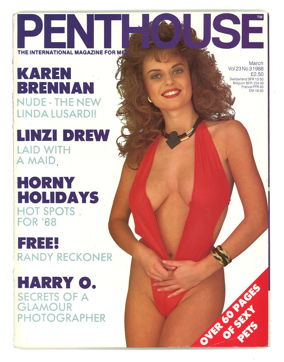 Penthouse Vol 23 No 3, 1988