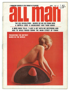 All Man Vol 8 No 11 Sept 1968