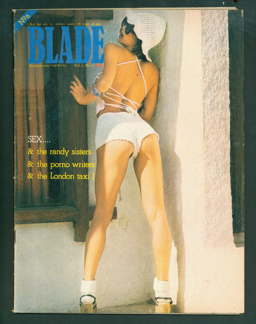 Blade Vol 1 No 6 Nov 1975