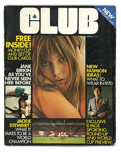 Club June 1970 - FIRST ISSUE