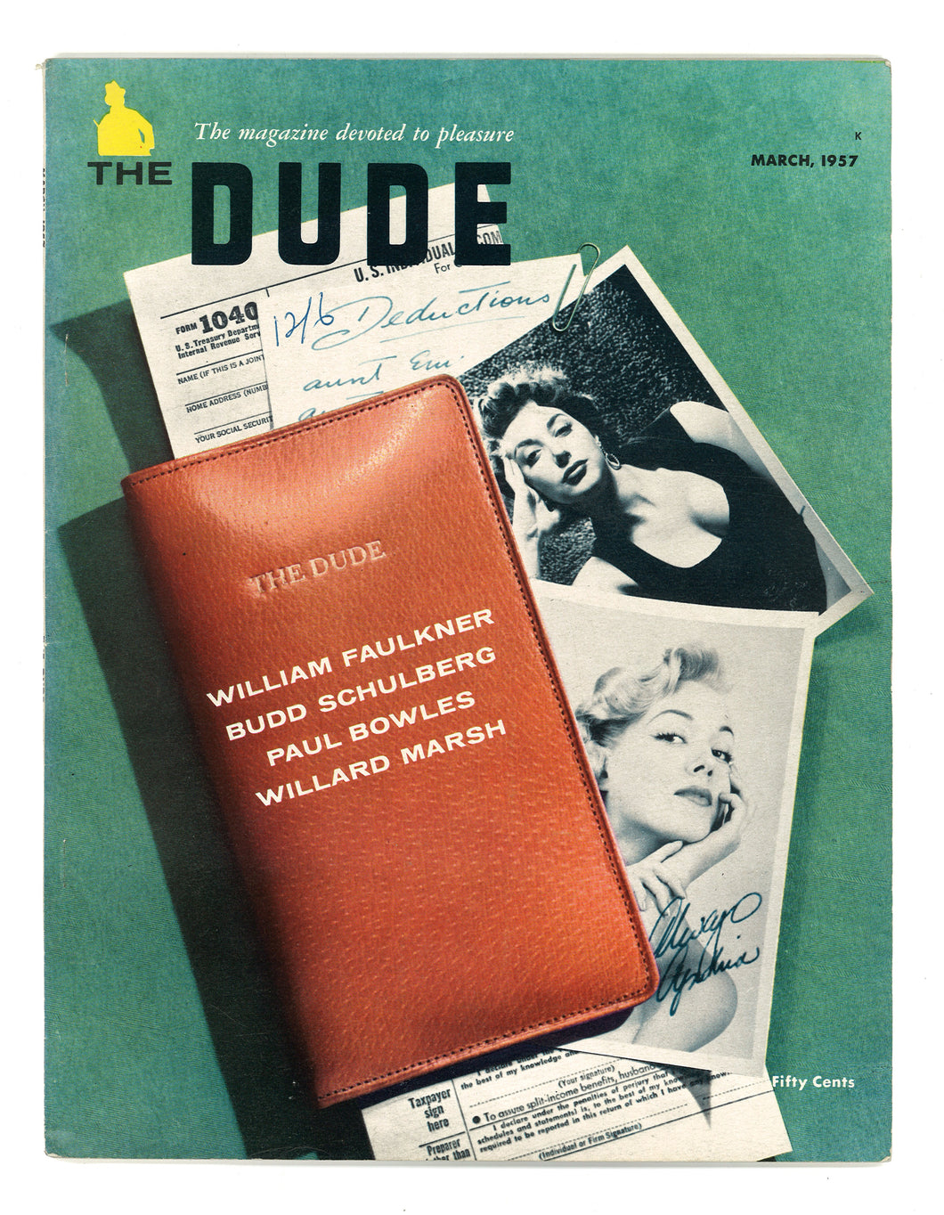 Dude Vol 1 No 4 March 1957