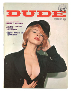 Dude Vol 7 No 9 Nov 1963