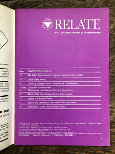 Relate Vol 1 No 2