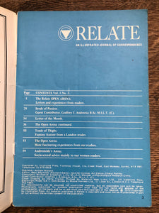 Relate Vol 1 No 3