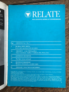 Relate Vol 1 No 7