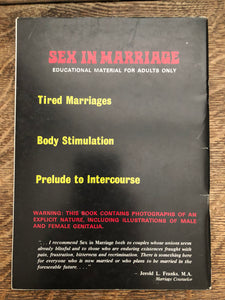 Sex in Marriage No 2