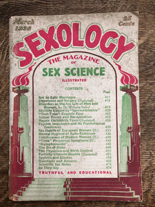 Sexology March 1936