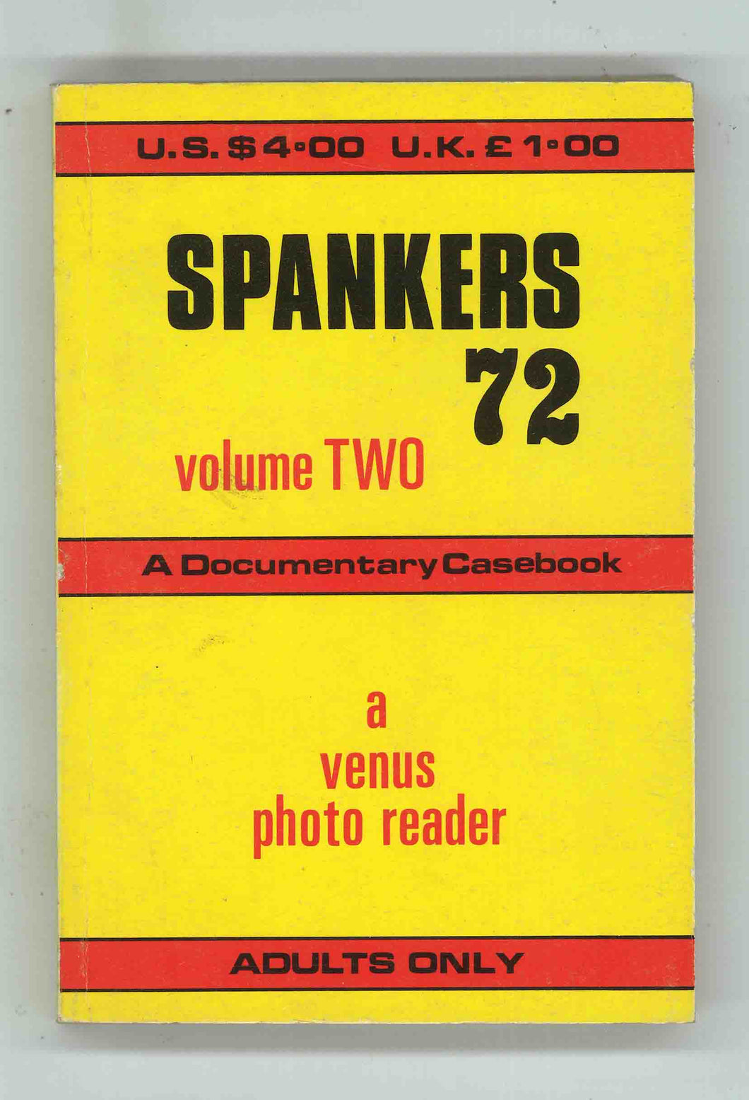 Spankers 72 Volume Two