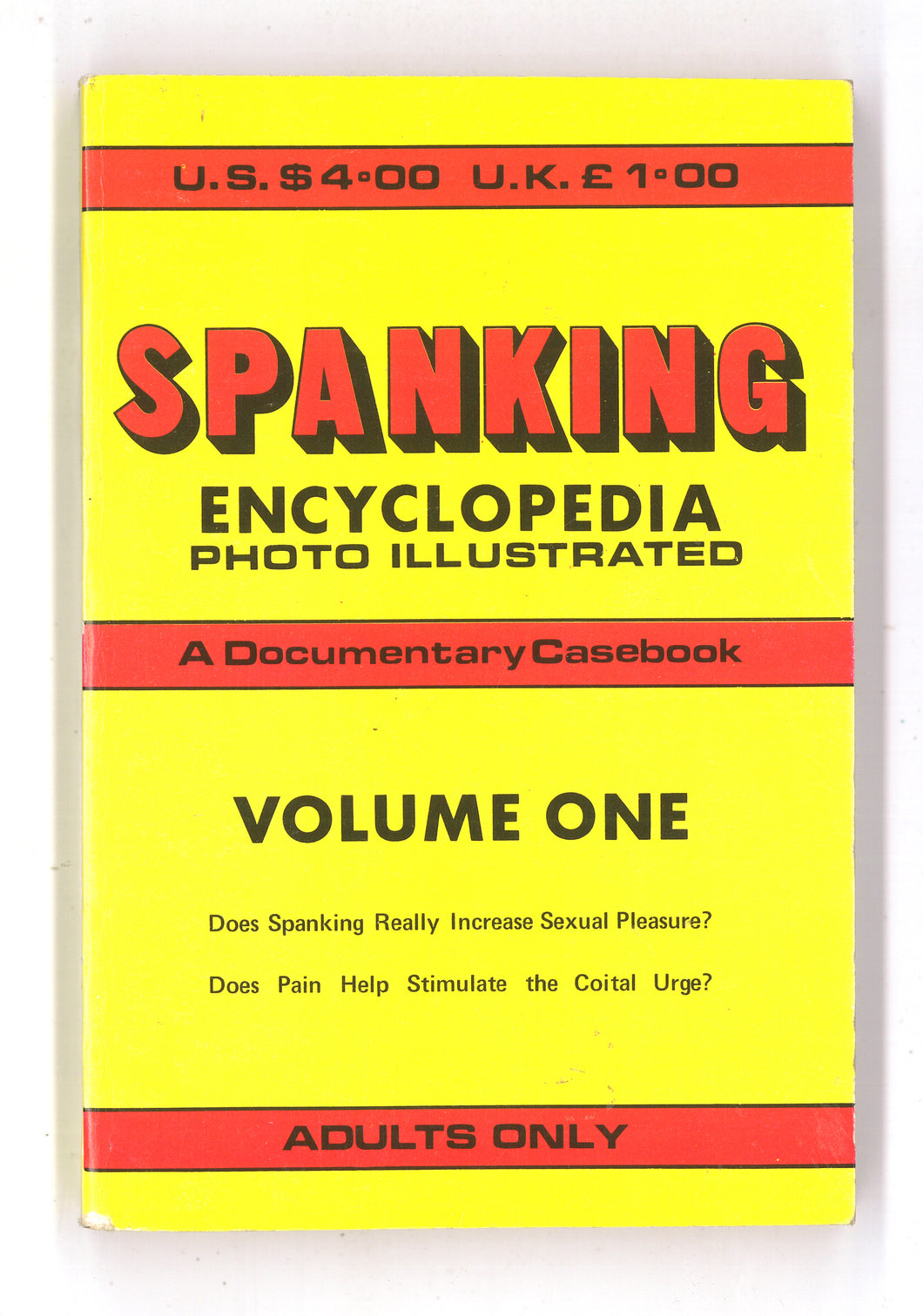 Spanking Encyclopedia Vol 1