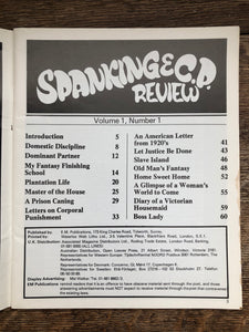 Spanking Review Vol 1 No 1 (A)