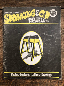 Spanking Review Vol 1 No 1