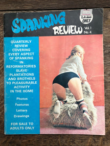 Spanking Review Vol 1 No 4