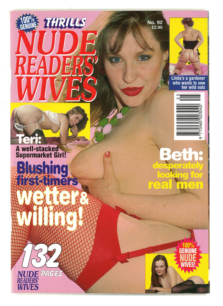 Thrills Nude Readers wives No 92
