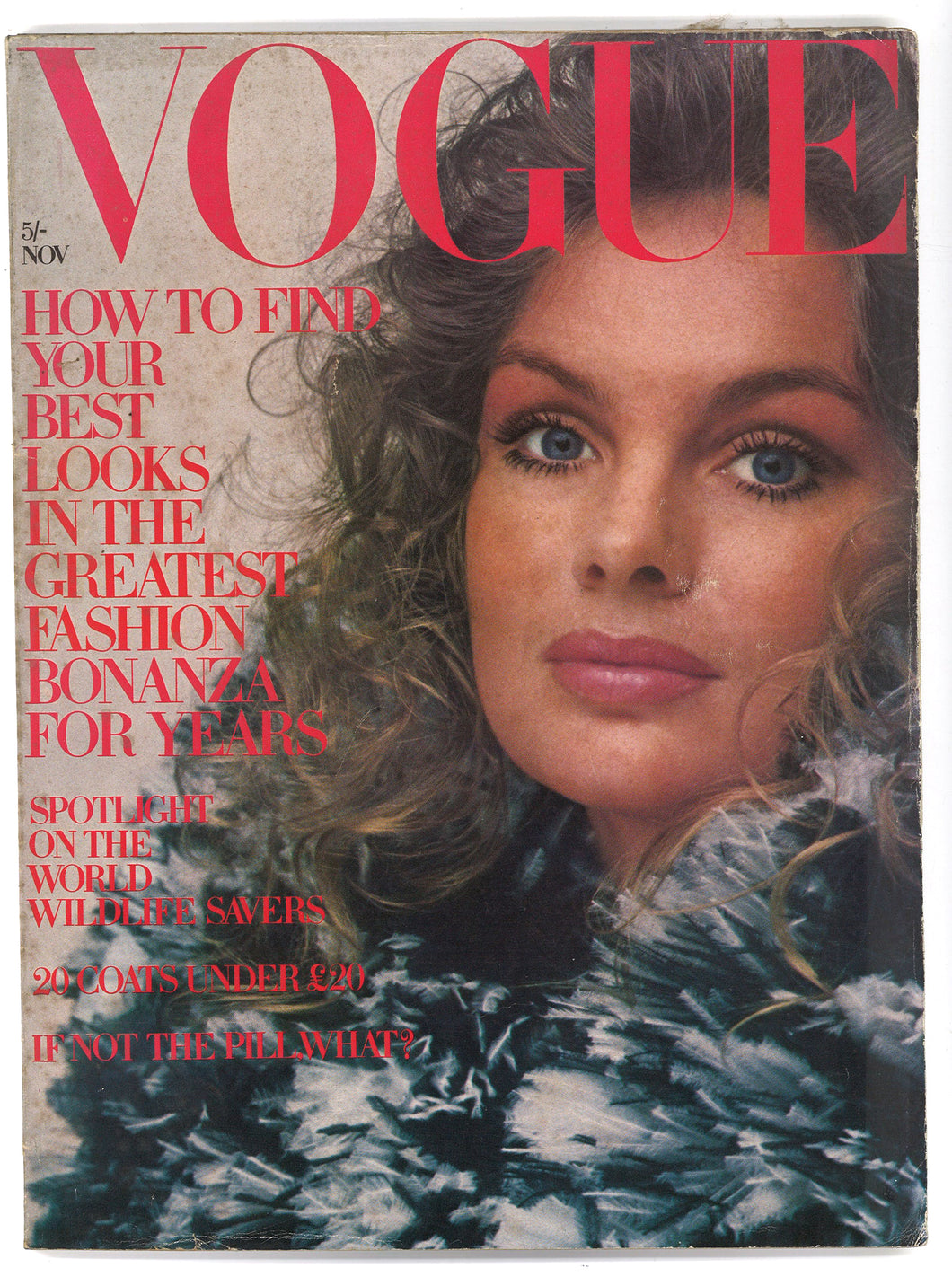 Vogue UK Nov 1970