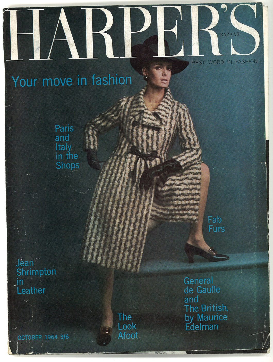 Harper's Bazaar (UK) Oct 1964