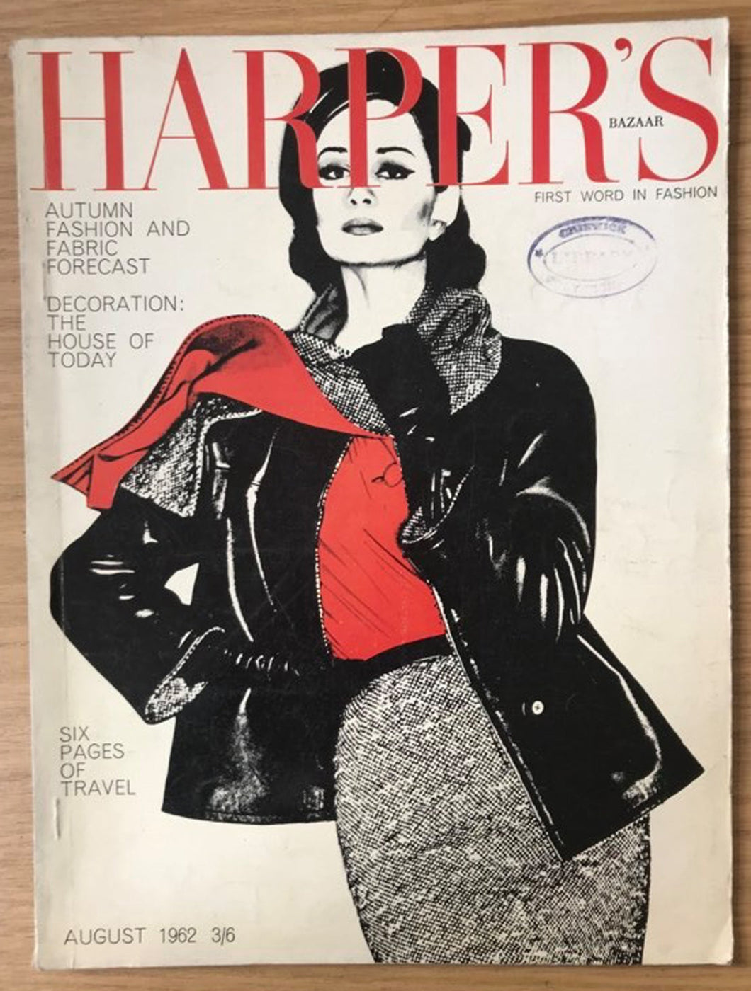 Harper's Bazaar (UK) Aug 1962