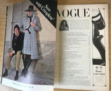 Load image into Gallery viewer, Vogue UK Nov 1970